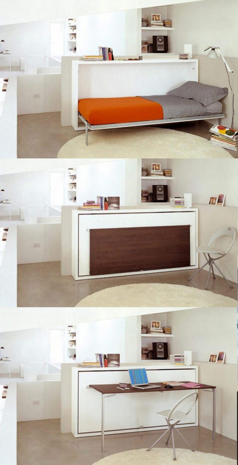 Кровать трансформер для малогабаритной квартиры своими руками