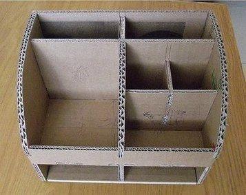 Органайзеры для косметики из коробок своими руками 55