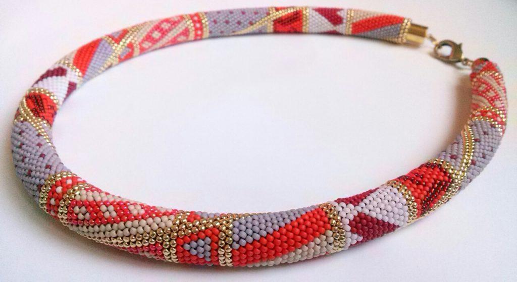 Колье из верёвки своими руками фото 492