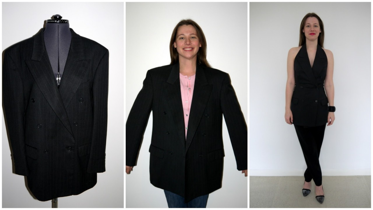 Что можно сделать из пиджака своими руками 49