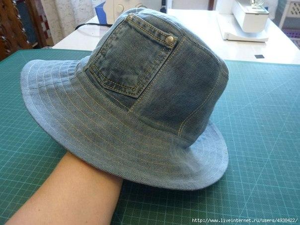 Панамки и шляпы из старых джинсов (Шитье и крой) Журнал Вдохновение