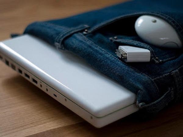 Как сделать чехол для ноутбука из джинсов