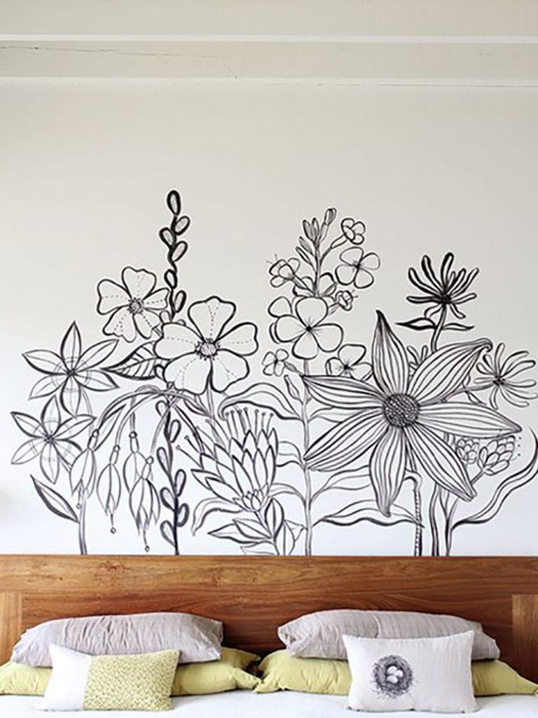 Красивые рисунки на стену дома такая холоднаякому