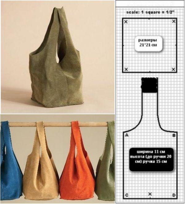 5b70c24e7ac0 Топ 20 модных моделей сумок с выкройками
