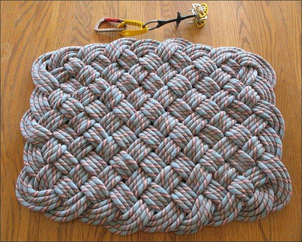 Коврики крючком, вязаные коврики крючком, коврик крючком схема