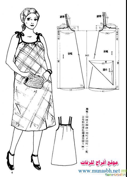 Выкройки и сарафанов для беременных