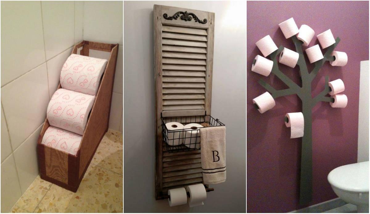 Креативные держатели туалетной бумаги своими руками фото 722