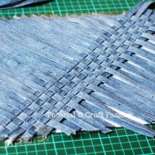 джинса плетение своими руками из