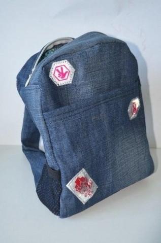883c14255da5 Шьем рюкзак для ребенка из старых джинс. Мастер-класс