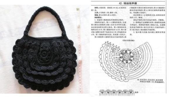 6359f9a877bc Очаровательные вязаные сумки. Схемы и описание