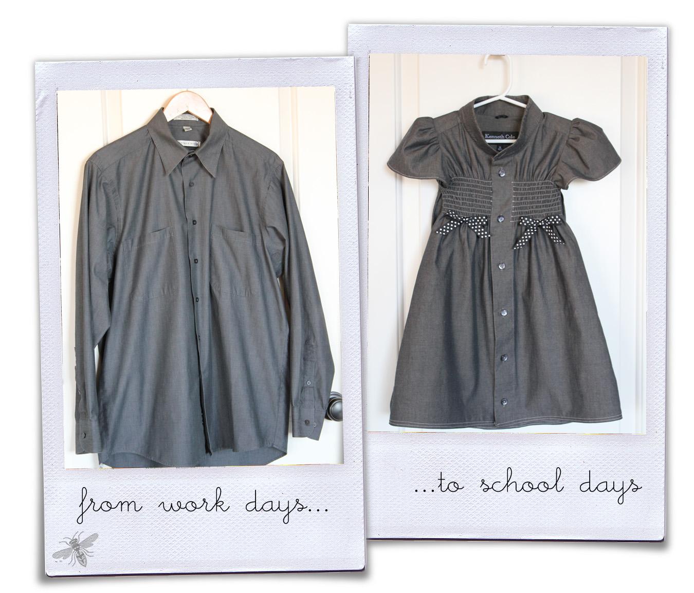 Платья из мужских рубашек своими руками