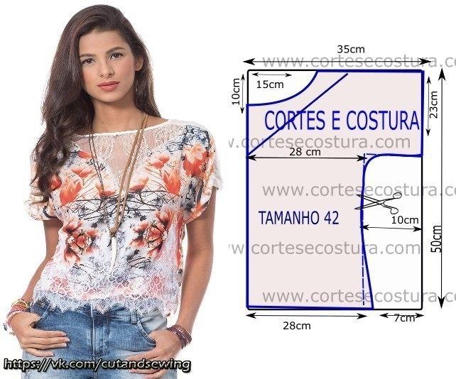 4168ba1c7ae Блузка «Крестьянка». Подробнее как смоделировать и сшить такую блузку можно  узнать здесь