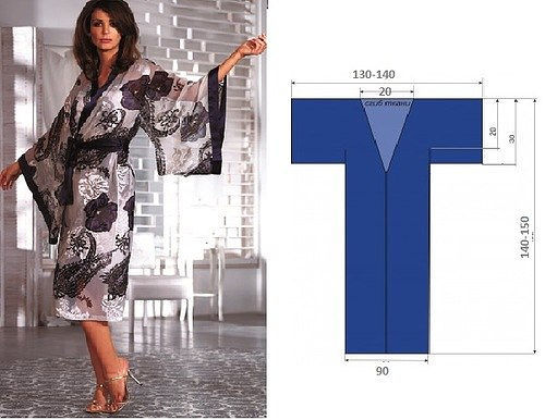 3ddbd774f92 Для домашней одежды часто одевают халаты. Очень популярны халаты с запахом