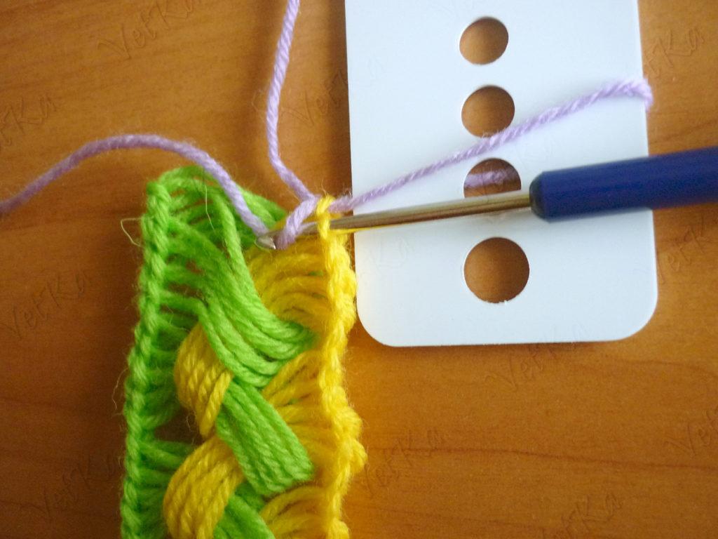 Вязать шарф крючком своими руками