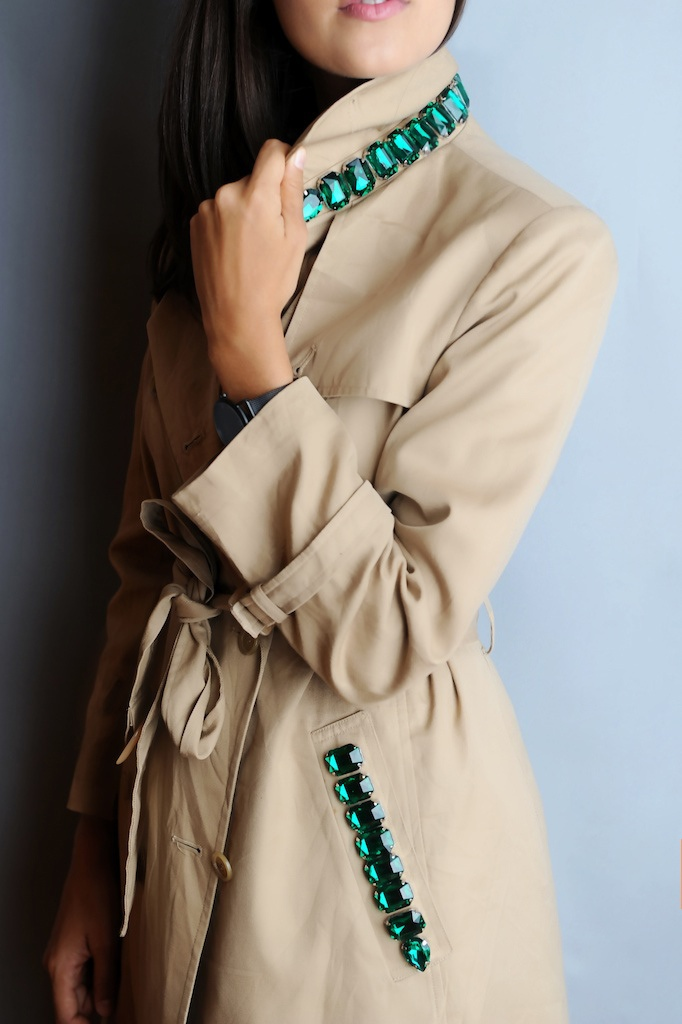 Декор пальто своими руками с фото 3
