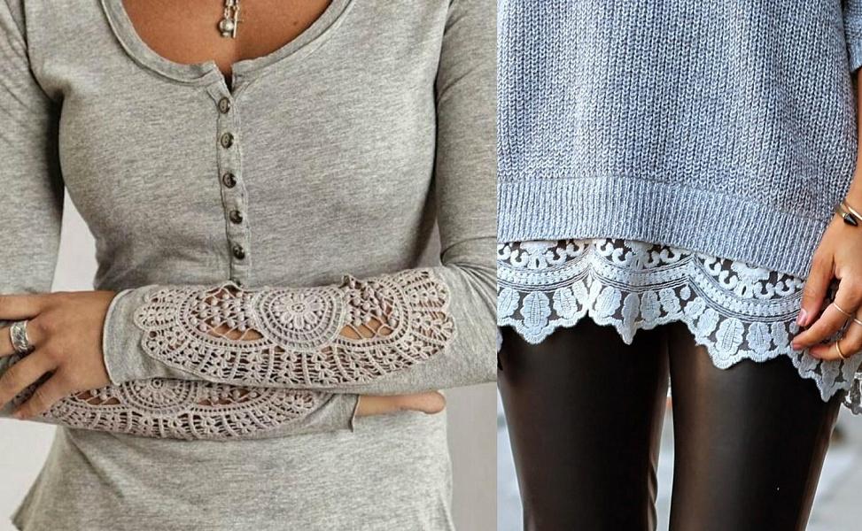 как переделать старый свитер в стильную и модную вещь сам себе