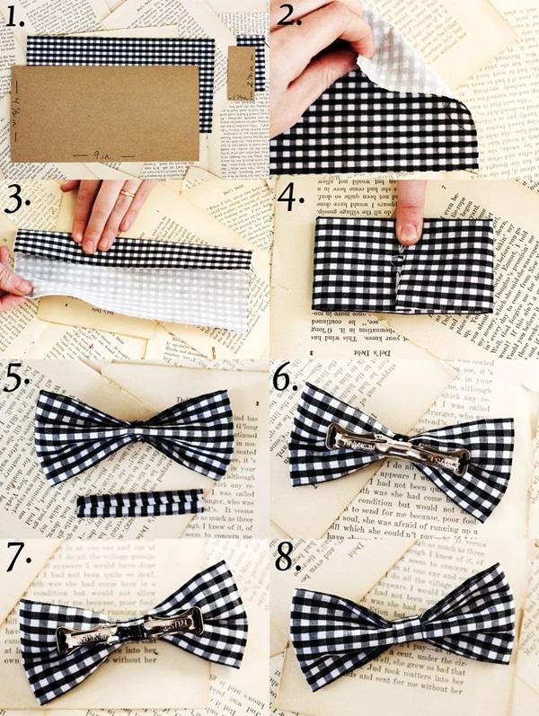Бантик галстук для мальчика своими руками 36