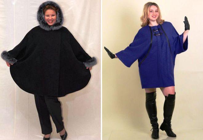 Пальто для полных женщин – самые модные фасоны нового сезона
