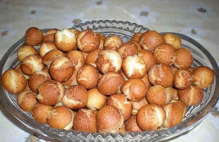 Пончики на сгущенке в духовке