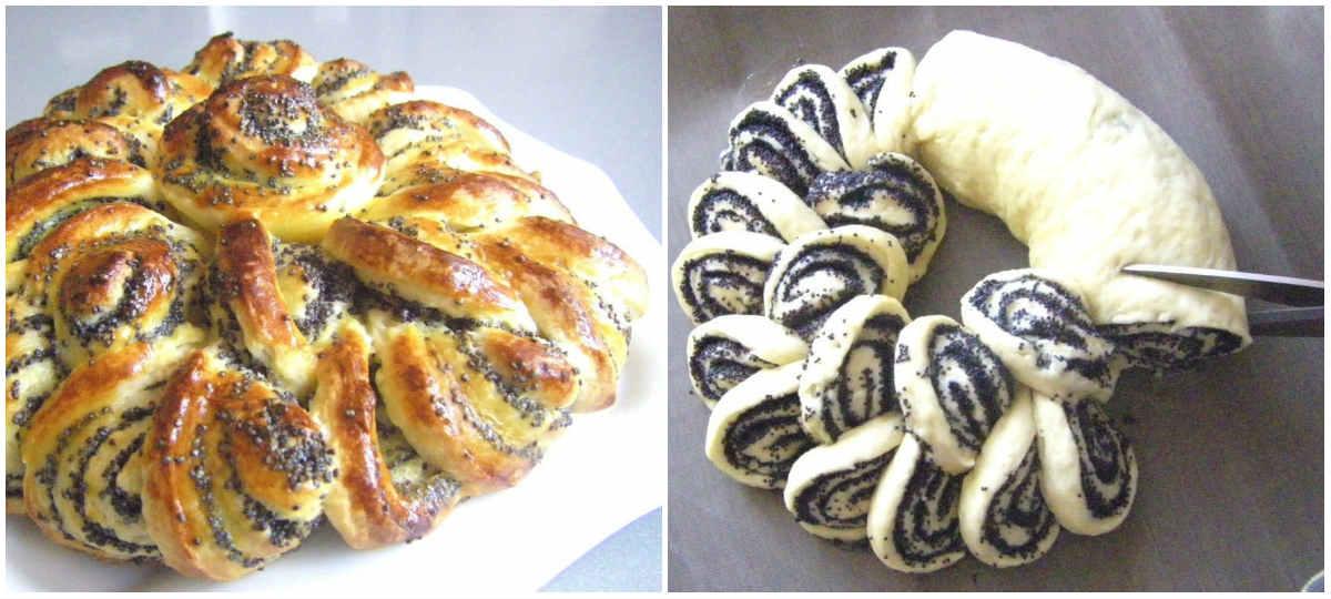 Плетенки с маком рецепт с пошагово
