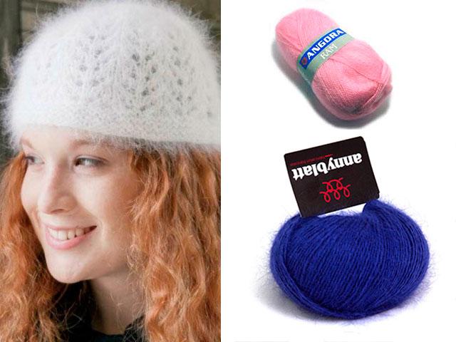 модные вязаные шапки своими руками с подробным описанием