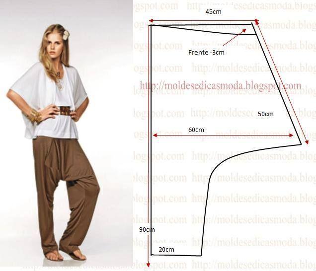 Как сшить модные брюки своими руками 38
