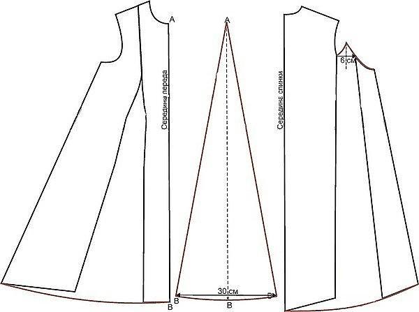 Как быстро сшить платье бабочку без выкройки 49