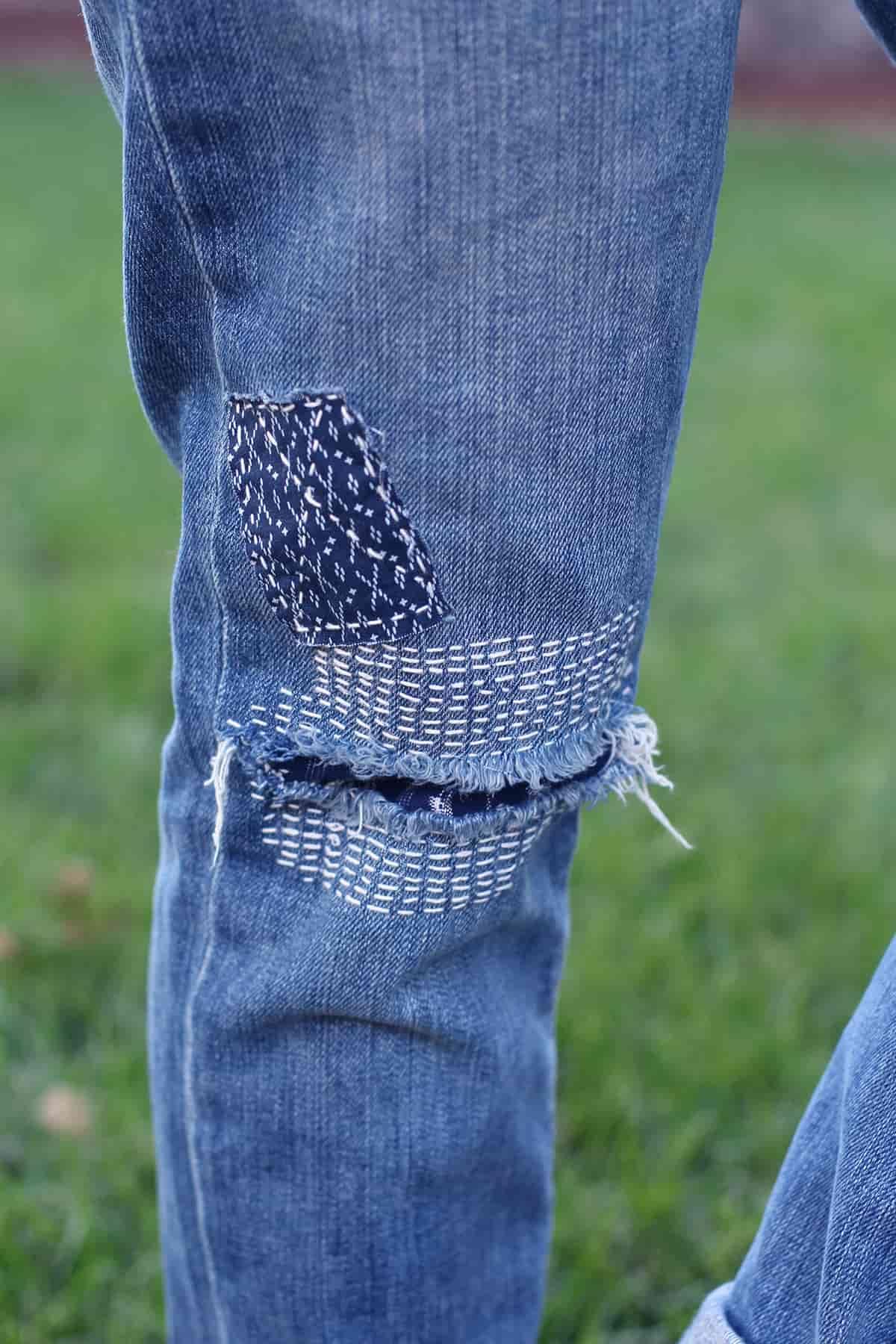 Как украсить джинсы (122 фото) 81