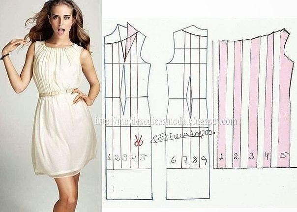 Красивые платья чтобы самой сшить 531