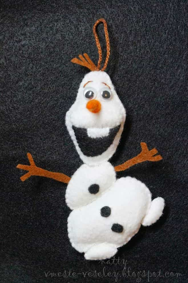 Олаф снеговик игрушка своими руками 58