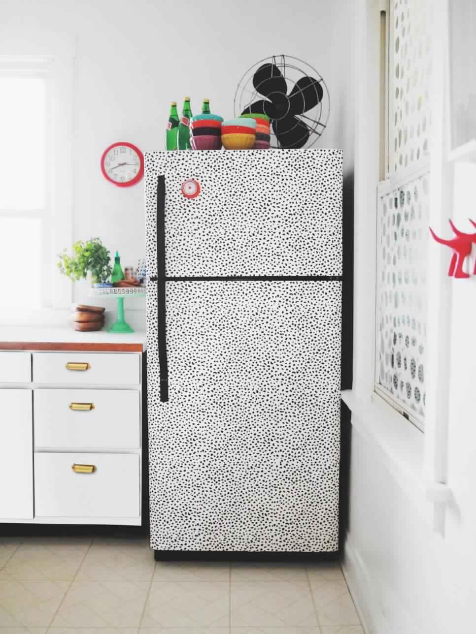 Как обновить старый холодильник своими руками: идеи реставрации старого 17