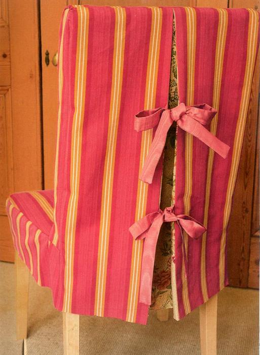 Сшить праздничные чехлы на стулья 57