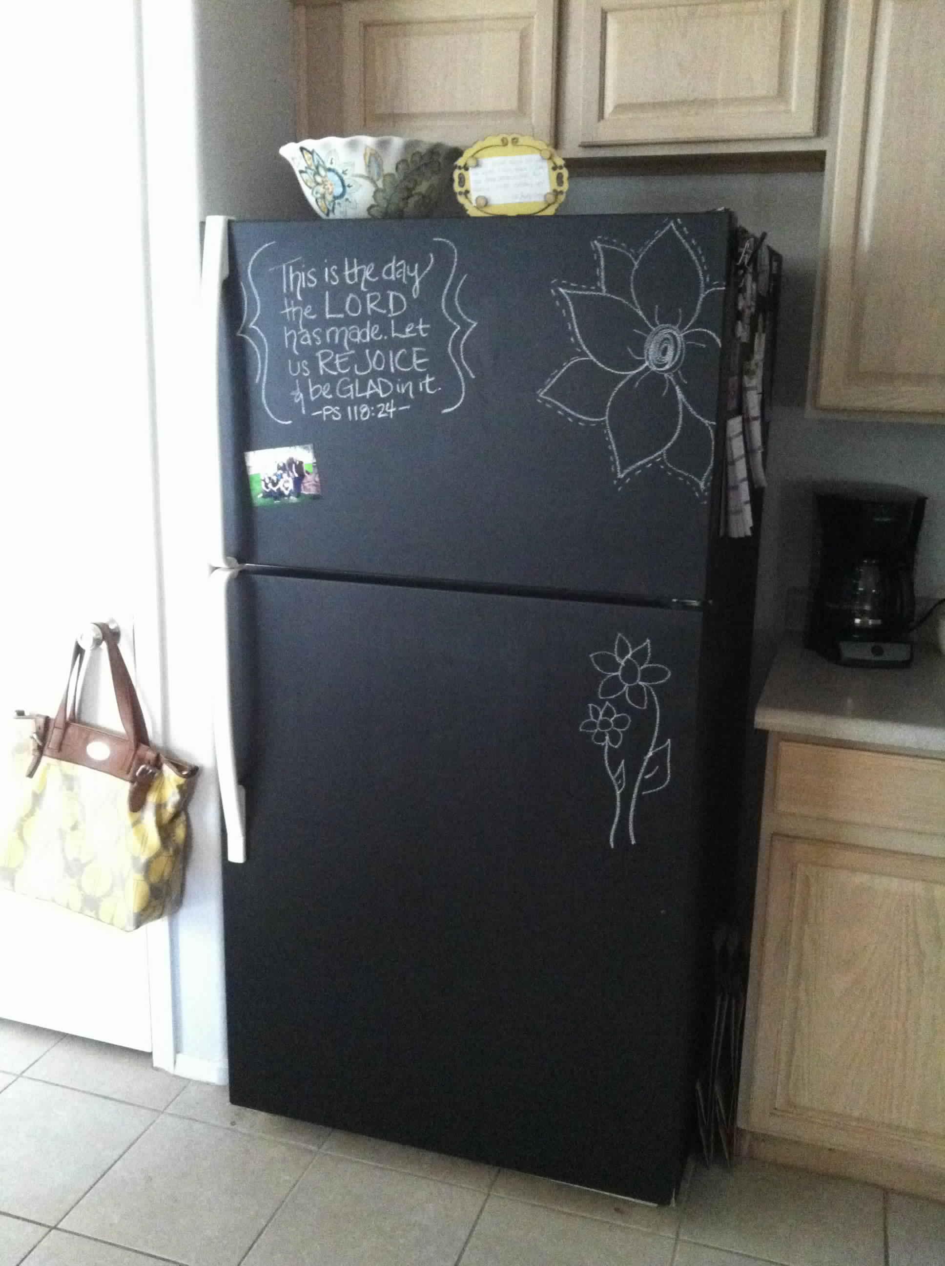 оборудован системой чем обклеить холодильник своими руками фото них предусмотрены специальные