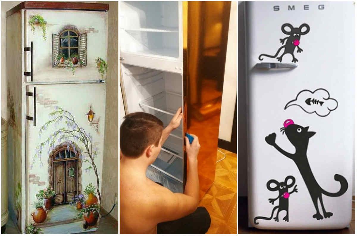 пришли клинику как можно украсить холодильник своими руками фото человек
