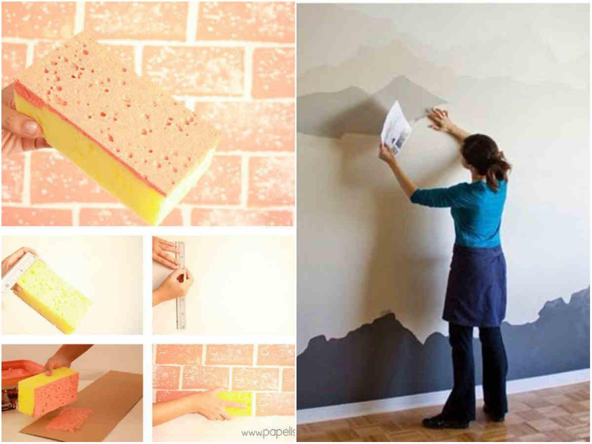 Как сделать оригинальные стены