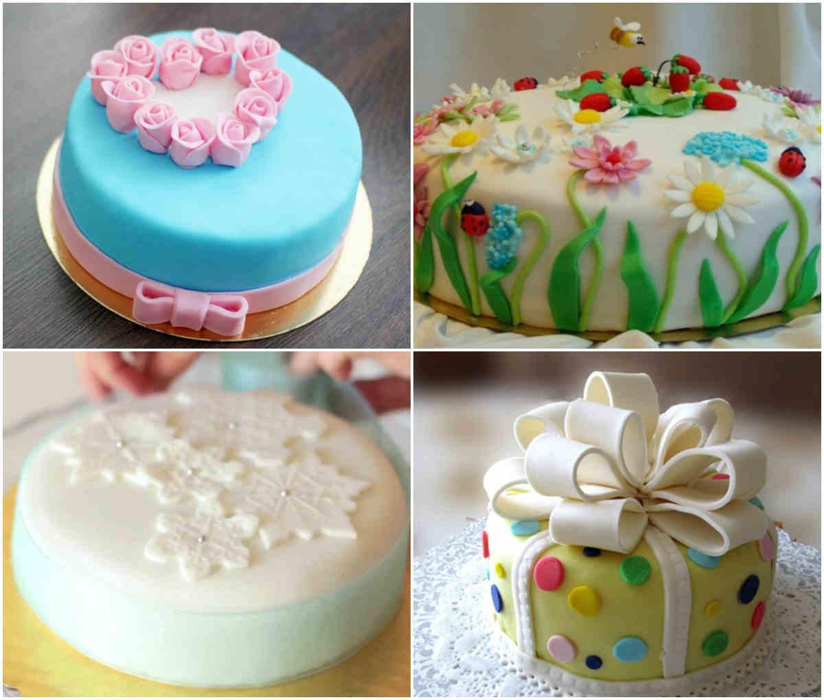 Торт на день рождения 10 лет девочке своими руками