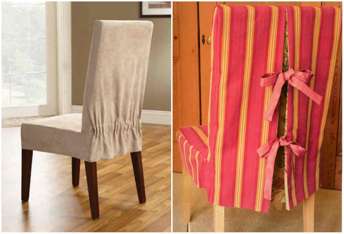 Чехлы на стулья простая выкройка выкройки фото 503