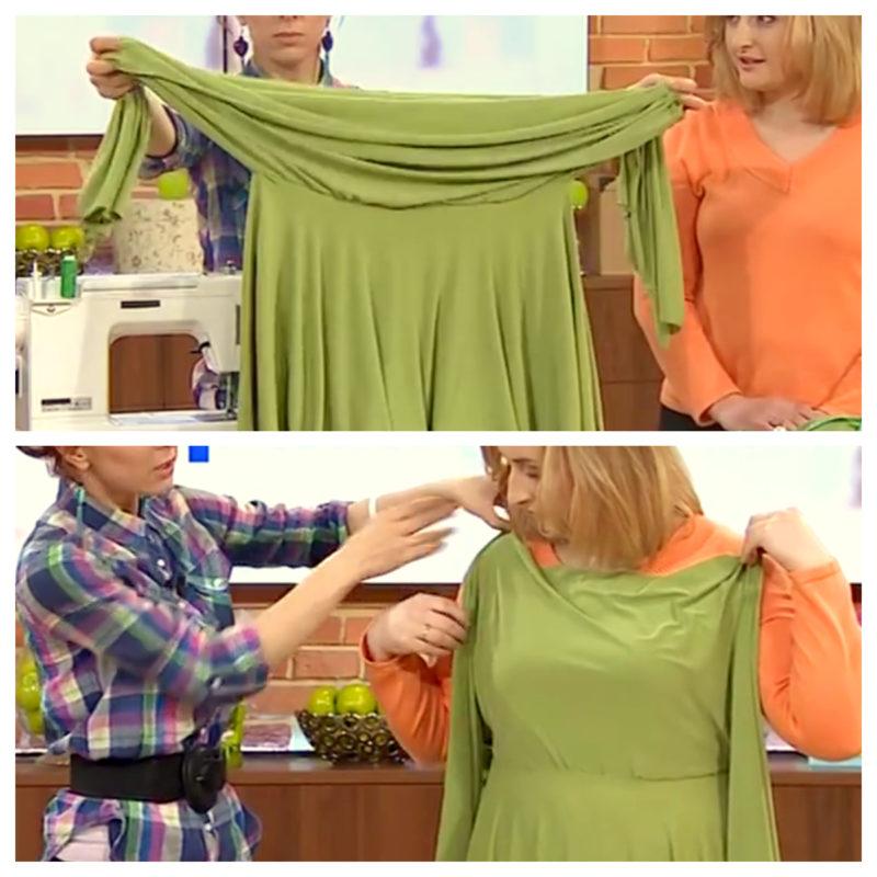 Платье в два шва своими руками 5