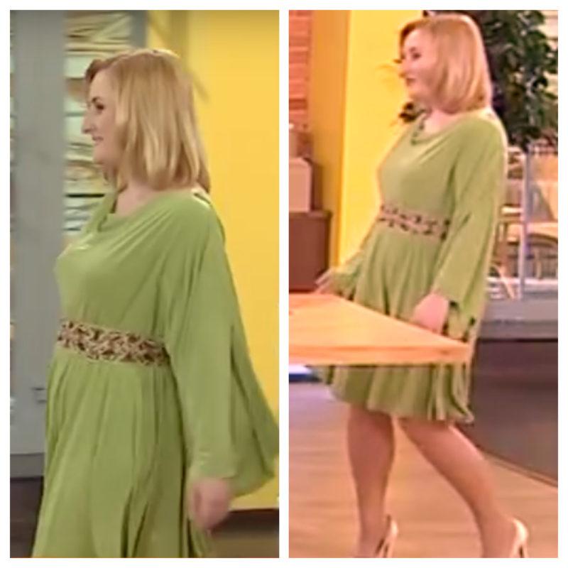 Праздничное платье одним швом для любой фигуры за 20 минут 31228e3fa8662