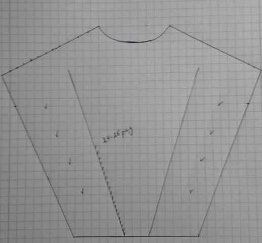 Оверсайз платье спицами с рукавом летучая мышь: схемы и описание